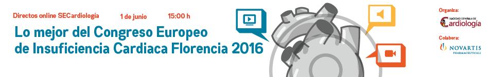 Lo mejor del Congreso Europeo de Insuficiencia Cardiaca Florencia 2016