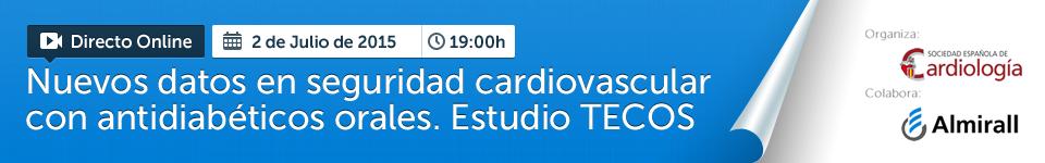 Nuevos datos en seguridad cardiovascular con antidiabéticos orales. Estudio TECOS